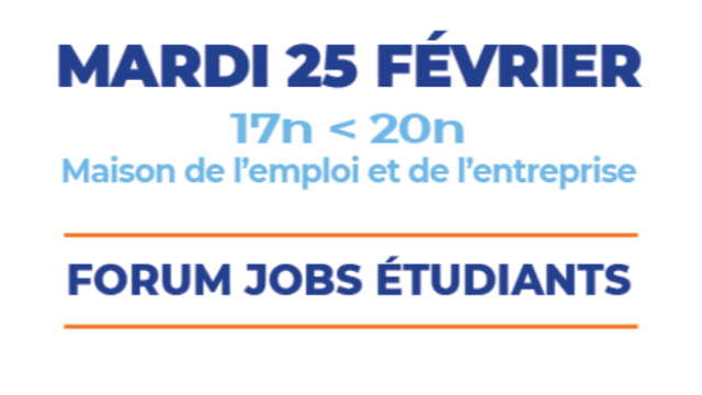 FORUM JOBS ÉTUDIANTS